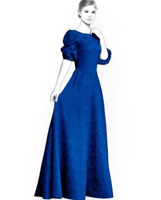 Выкройка: длинное платье арт. ВКК-1978-1-ЛК0004446