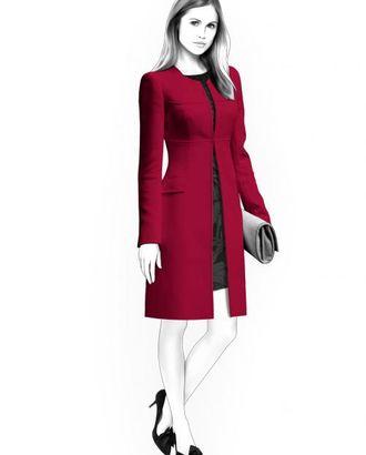 Выкройка: легкое пальто арт. ВКК-347-1-ЛК0004469