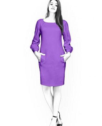 Выкройка: прямое платье арт. ВКК-1460-1-ЛК0004507
