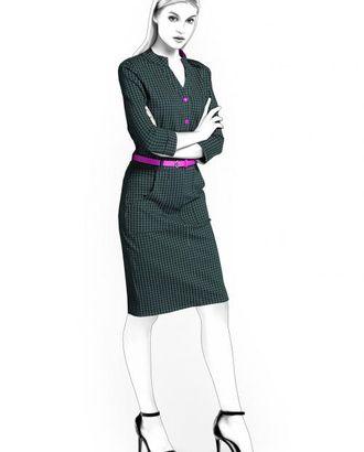 Выкройка: платье в спортивном стиле арт. ВКК-482-1-ЛК0004528