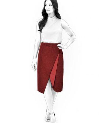 Выкройка: юбка с запахом арт. ВКК-1678-1-ЛК0004564