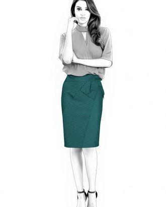 Выкройка: юбка с бантом арт. ВКК-1057-1-ЛК0004585