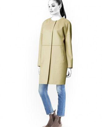 Выкройка: пальто с карманами арт. ВКК-1037-1-ЛК0004591