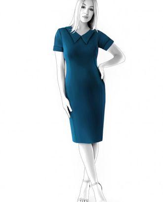 Выкройка: платье с коротким рукавом арт. ВКК-1562-1-ЛК0004600