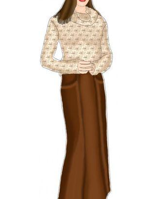 Выкройка: юбка с наклонными карманами арт. ВКК-1817-1-ЛК0005025