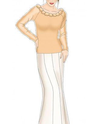 Выкройка: юбка-годе арт. ВКК-1011-1-ЛК0005028