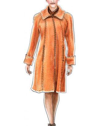 Выкройка: пальто-свингер с рукавами реглан арт. ВКК-1140-1-ЛК0005076