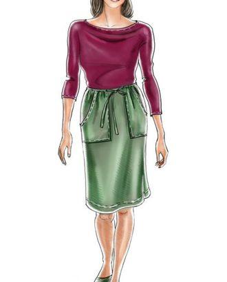 Выкройка: юбка в спортивном стиле арт. ВКК-1338-1-ЛК0005089