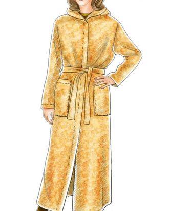 Выкройка: пальто арт. ВКК-368-1-ЛК0005109