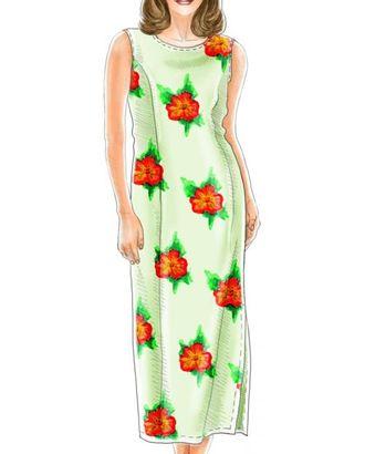 Выкройка: платье арт. ВКК-1346-1-ЛК0005131