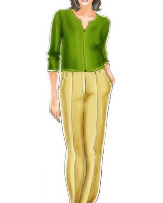 Выкройка: брюки арт. ВКК-474-1-ЛК0005138
