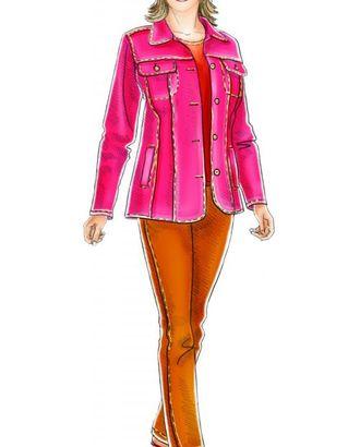 Выкройка: джинсовый жакет арт. ВКК-1674-1-ЛК0005158