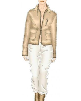Выкройка: куртка с накладными карманами арт. ВКК-1056-1-ЛК0005322