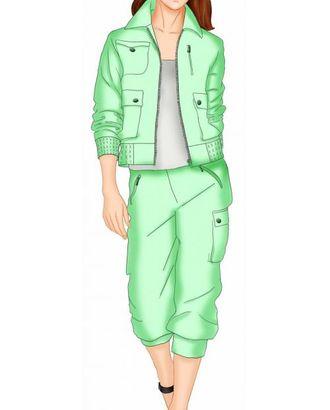 Выкройка: куртка-ветровка арт. ВКК-625-1-ЛК0005492