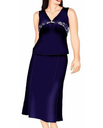 Выкройка: юбка с рельефами арт. ВКК-1237-1-ЛК0005508