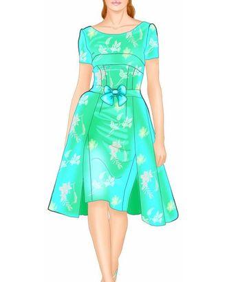 Выкройка: платье с двойной юбкой арт. ВКК-1243-1-ЛК0005562