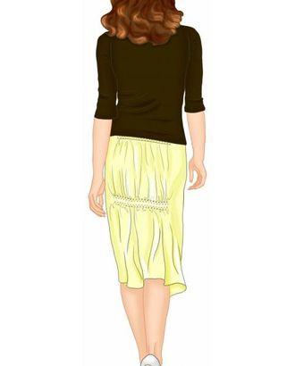 Выкройка: юбка со сборкой сзади арт. ВКК-1386-1-ЛК0005570