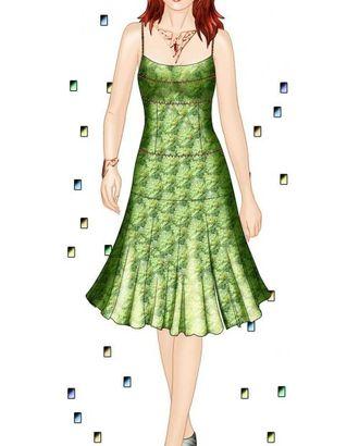 Выкройка: сарафан с кокеткой арт. ВКК-1748-1-ЛК0005595