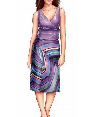 Выкройка: юбка арт. ВКК-1039-1-ЛК0005681