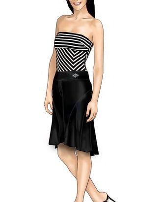 Выкройка: юбка арт. ВКК-1216-1-ЛК0005687