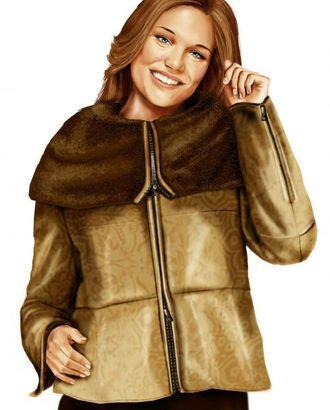Выкройка: куртка с большим воротником арт. ВКК-1479-1-ЛК0005700