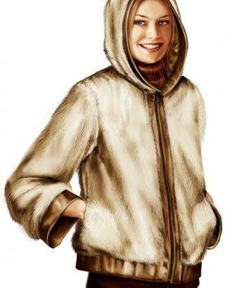 Выкройка: меховая куртка арт. ВКК-1341-1-ЛК0005701