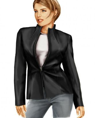 Выкройка: кожаная куртка арт. ВКК-1742-1-ЛК0005702
