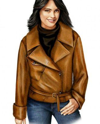 Выкройка: куртка с ремешком арт. ВКК-580-1-ЛК0005703