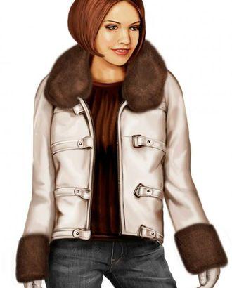 Выкройка: куртка-реглан арт. ВКК-646-1-ЛК0005704