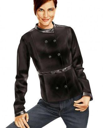 Выкройка: двубортная куртка арт. ВКК-945-1-ЛК0005707