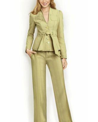 Выкройка: прямые брюки арт. ВКК-285-1-ЛК0005740