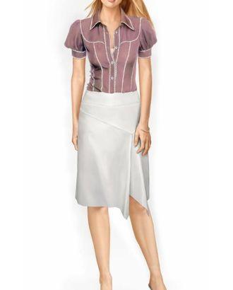 Выкройка: юбка с углом арт. ВКК-1083-1-ЛК0005744