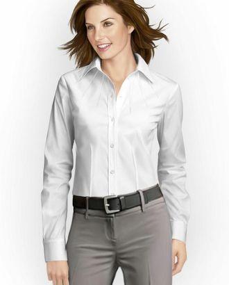 Выкройка: блузка с вытачкой лучами арт. ВКК-1716-1-ЛК0005762