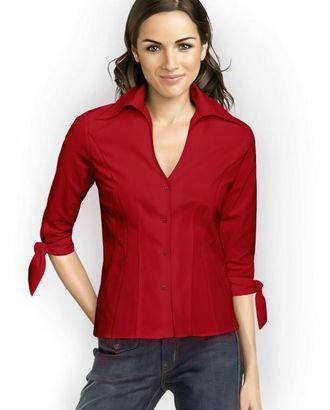 Выкройка: блузка с завязками на рукавах арт. ВКК-1109-1-ЛК0005767