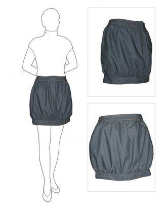 Выкройка: юбка-сфера арт. ВКК-1201-1-ЛК0005825