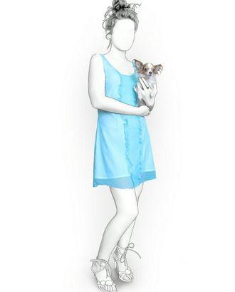 Выкройка: сарафан с рюшами арт. ВКК-538-1-ЛК0005909