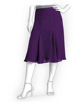 Выкройка: юбка-годе от бедра 6 клиньев арт. ВКК-1444-1-ЛК0005924