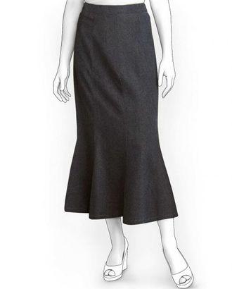 Выкройка: юбка 8-и клинка клеш от колена арт. ВКК-1470-1-ЛК0005925