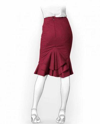 Выкройка: юбка с хвостом арт. ВКК-1370-1-ЛК0005928