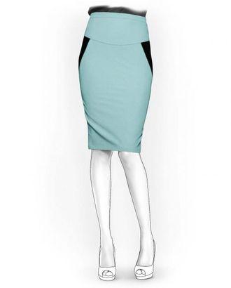 Выкройка: юбка с боковыми вставками арт. ВКК-1279-1-ЛК0005934