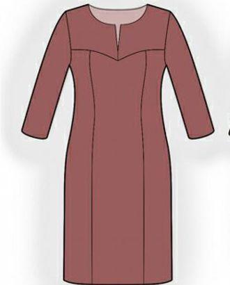 Выкройка: платье арт. ВКК-732-1-ЛК0005956