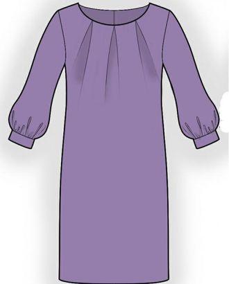 Выкройка: платье-туника арт. ВКК-1230-1-ЛК0005971