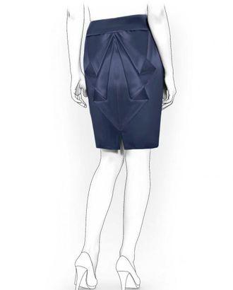 Выкройка: юбка с воланами арт. ВКК-244-1-ЛК0005993