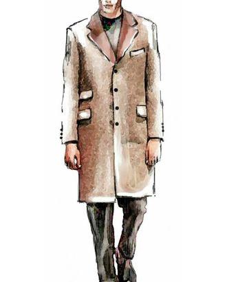 Выкройка: классическое однобортное пальто арт. ВКК-1391-1-ЛК0006010