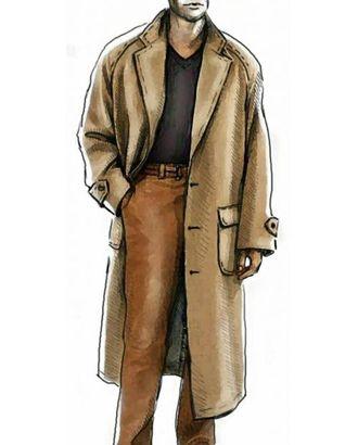Выкройка: пальто арт. ВКК-261-1-ЛК0006014