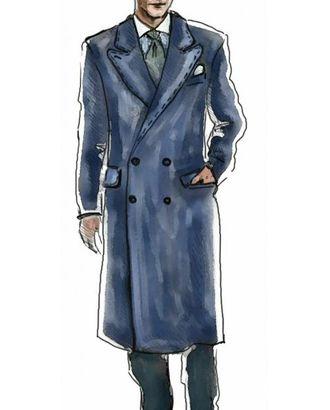 Выкройка: пальто арт. ВКК-524-1-ЛК0006015