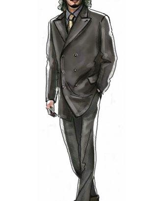 Выкройка: пиджак двубортный арт. ВКК-1427-1-ЛК0006021