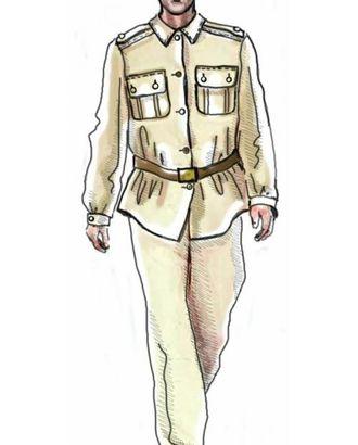 Выкройка: рубашка форменная арт. ВКК-1363-1-ЛК0006024