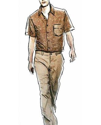 Выкройка: рубашка арт. ВКК-374-1-ЛК0006027