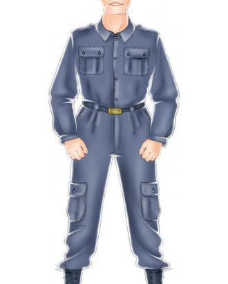 Выкройка: брюки форменные милицейские арт. ВКК-249-1-ЛК0006032